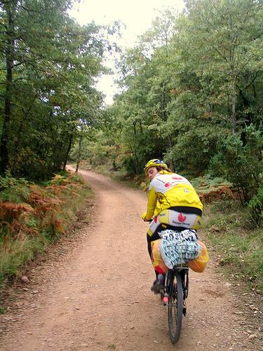 Ruta jacobea en bicicleta