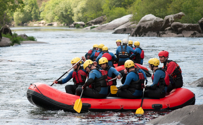 rafting viaje de incentivo