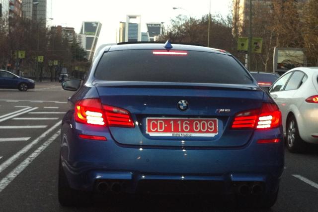 Vehículo Cuerpo Diplomático