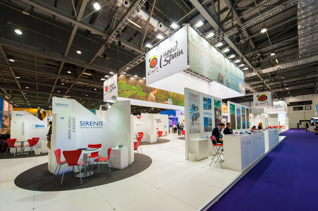 Stand de España en World Travel Market 2012