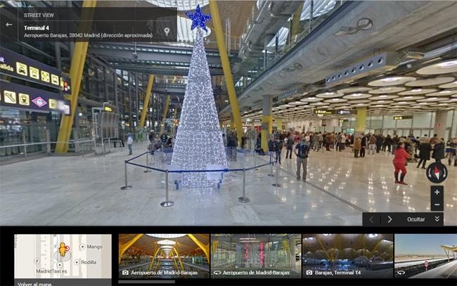 T4- Aeropuerto de Madrid - Street View