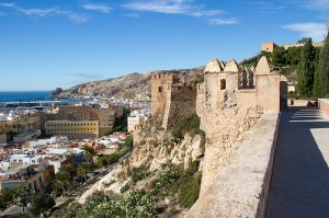 Almeria ciudad desde la Alcazaba
