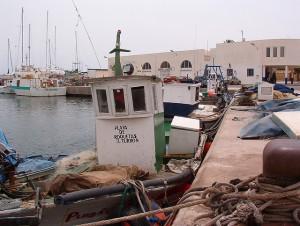 Puerto de Roquetas de Mar (Almería)