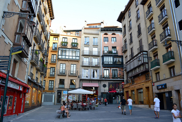 Pamplona Plaza Ayuntamiento